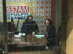 South Africa Radio Pulpit 657AM interviews Trish Jenkins