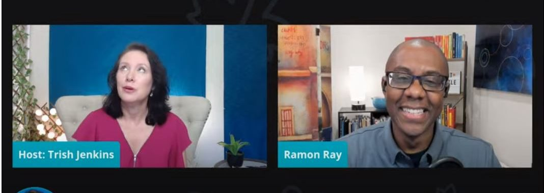 Trish Jenkins interviews Ramon Ray: Smart Hustle Founder Shares Faith Behind the Scenes. Breaking Depression.